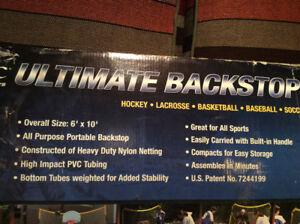 Filet / Backstop pour hockey-soccer