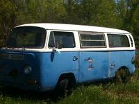1970s volkswagen van