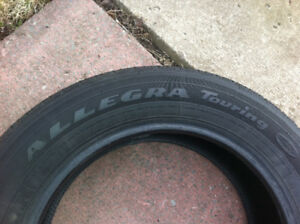 4 Pneus d'été 225/60R17 Good~Year Allegra