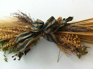 Decorative Dried Flowers Arrangement Swag Wheat Barley Lavender Peterborough Peterborough Area image 4