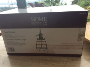 Cage pendant lighting by home decorations collection 5 * 9 inch