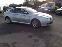 ALFA REMEO JTD COUPE 1.9 6 SPEED 56 PLATE