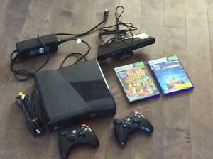 Xbox 360 Disney and Kinect bundle. +16 games and 3 controllers