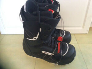 Like new Burton Invader snowboard boots size 14 men's