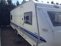 Hobby 650 prestige 7 berth caravan