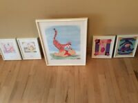 Winnie the Pooh Framed Prints