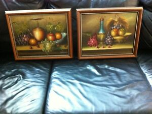 OIL PAINTINGS ON CANVASS PROFESSIONALY FRAMED