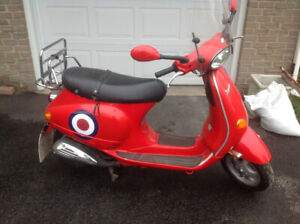 NICE Dragon red et4 Vespa open to offers