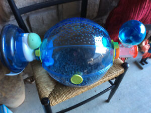 OVO Habitrail Hamster Cage with new wheel and water bottle