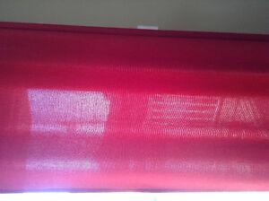 Panneaux de rideaux et coussins rouge Saint-Hyacinthe Québec image 2