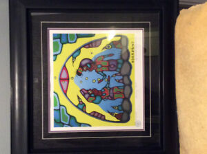 """Morrisseau Numbered Print """"Shaking Tent"""" 1978/2007"""