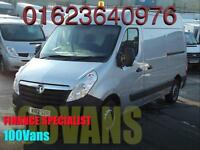 VAUXHALL MOVANO 2.3CDTI L2 H2 100PS WINDOW CLEANER VAN