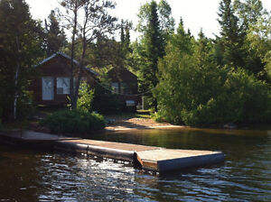 Quite Private Lake Front Near Kenora Drive Up to Door