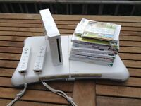 Nintendo wii including wii fit and games