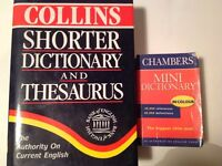 2 Dictionaries (1 pocket size)