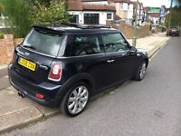 Mini Cooper s 2009 model 1.6 turbo full BMW history 1 lady owner don't miss out !!!!