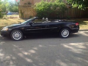 2002 Chrysler Sebring Convertible LXI AS IS