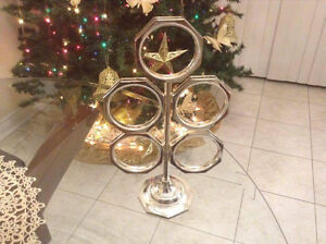 SILVER 5 FAMILY PICTURES HOLDER