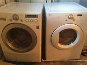 LG HE Frontload Washer and Dryer Set for Sale