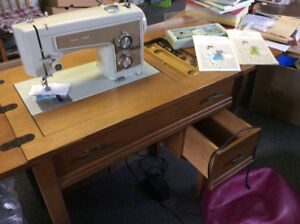 Kenmore Zigzag Sewing Machine with Cabinet