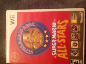 Wii Super Mario  Bros. All Stars Game 4 in 1