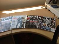 4 PLANET ROCK MAGAZINES GREAT READ FOR ANY ROCK MUSIC LOVERS