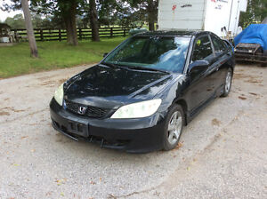 2005 Honda Civic S I coupe Coupe (2 door)