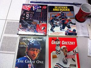 Large Hard Cover Hockey Books