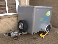 Box trailer indespension TAV one with Upgraded Chassis Frame
