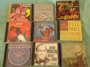 Various indie, eclectic music CDs for sale from $2 to $5 pt.4