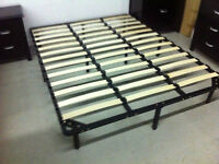 Brand new strong Queen bed frame(don't need box-spring)$99.99