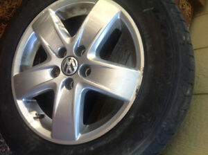 Volkswagen city golf tires with mags