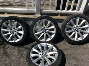 4 Snow Tires with Rims for 2013 BMW
