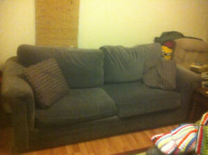 Couch and armchairs for sale