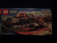 Lego 60085 city great vehicles set 4x4 with powerboat