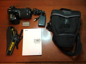 Nikon D90 Package