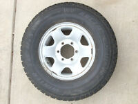 Winter Tires on rims for Toyota Pick up