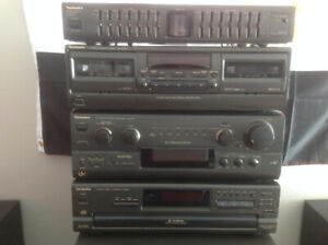 Technics Stereo System - Vintage