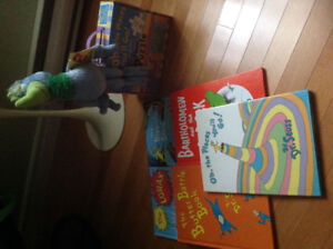 Dr. Seuss Books, Floor Puzzle and Stuffed Animal