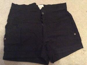 Size 15 black shorts.