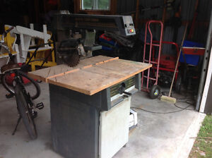"""CRAFTSMAN 10"""" RADIAL ARM SAW AND STAND"""