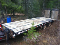 2007 EZ LOADER 21 TON TILT TRAILER