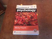 Psychology study books