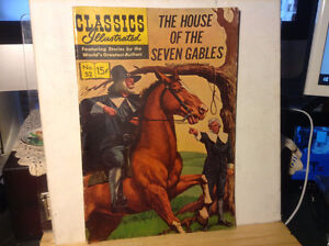 CLASSICS ILLUSTRATED #52 G HRN142 (THE HOUSE OF SEVEN GABLES)