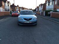 2007 Mazda 3 1.6 TS2 5dr hatchback petrol manual 1 owner low mileage full history £1295
