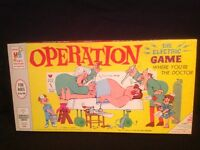 OPERATION 1ST EDITION BY MILTON BRADLEY ( 1965 COMPLETE )
