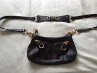 Ted Baker Black Leather Shoulder Bag