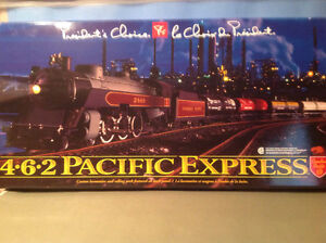 HO Canadian Pacific Train set