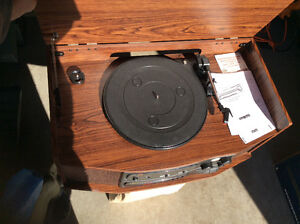 Technosonic Cassette Phonograph Radio Record Player Belleville Belleville Area image 2