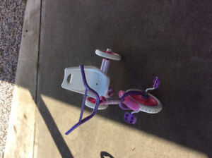 Girls tricycle for sale.